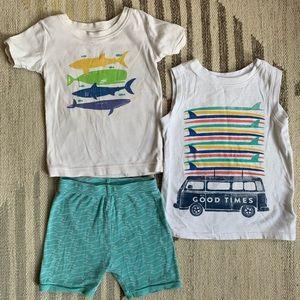 [carter's] beachy PJs 4T
